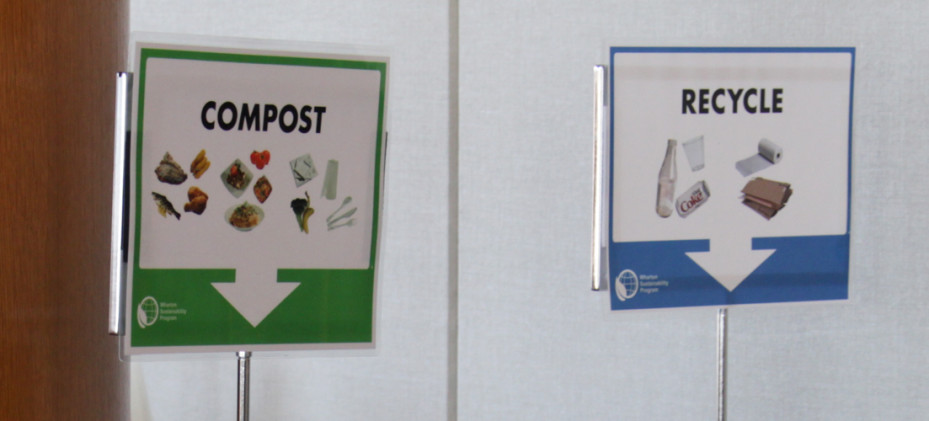 Compost signs