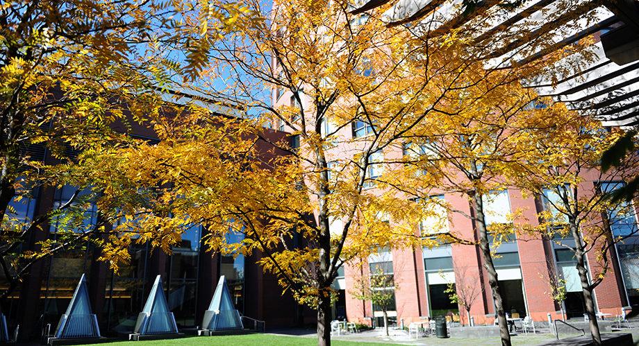 Wharton Jon M. Huntsman Hall exterior