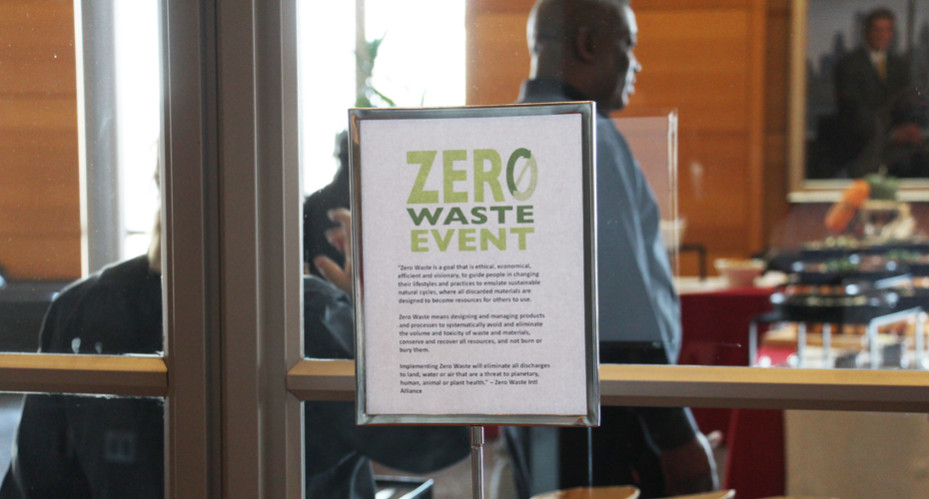 Sustainability - Zero waste event